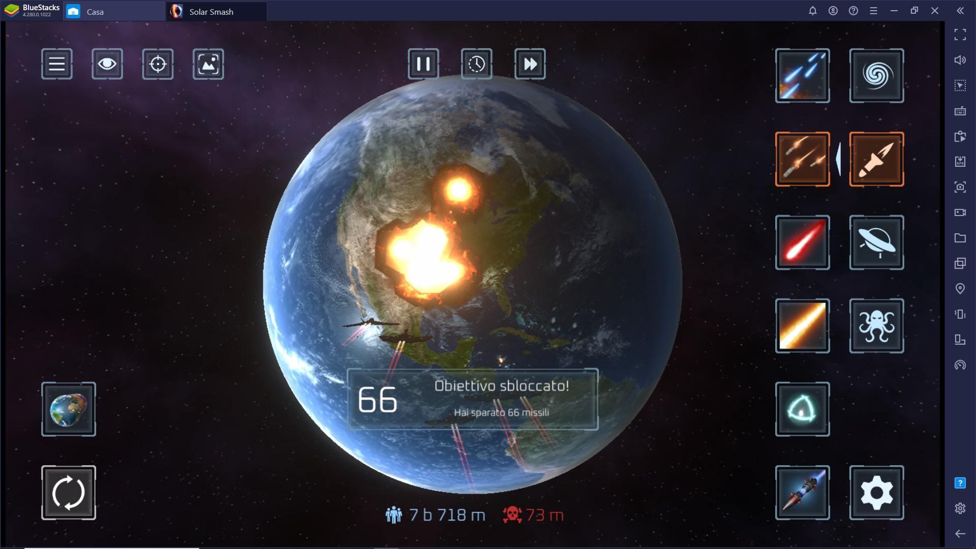 Come completare le Realizzazioni (missioni) in Solar Smash