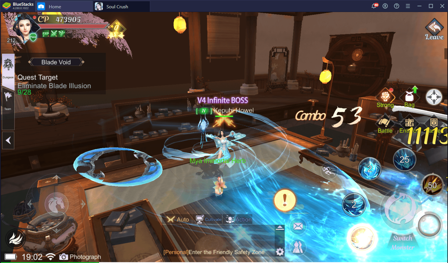 Cultivate Your Hero — How to Play Soul Crush: Kongfu World with BlueStacks