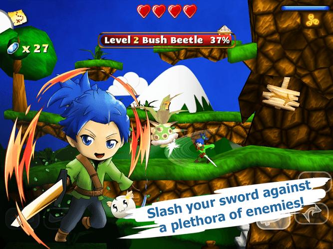 Играй Swordigo На ПК 9