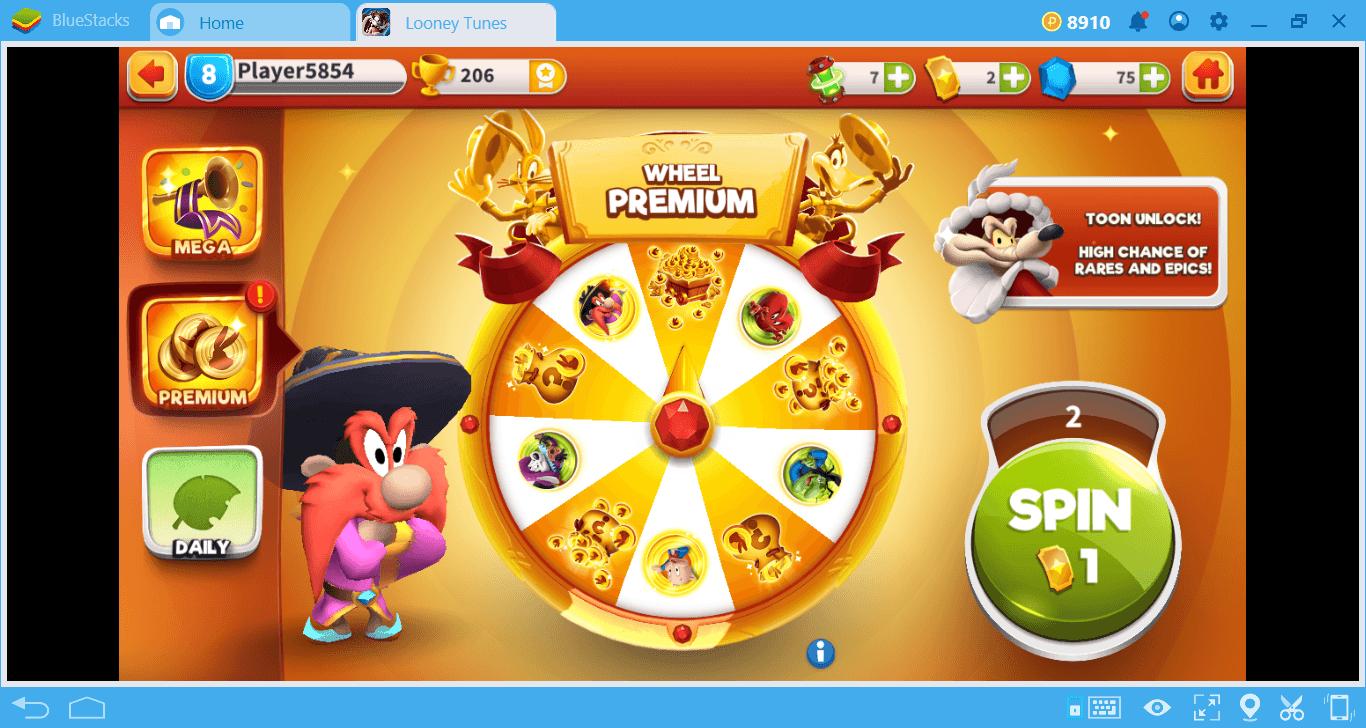 Lass uns Looney Tunes Die Irre Schlacht spielen!