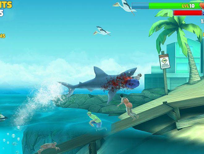 Speel Hungry Shark Evolution on PC 10