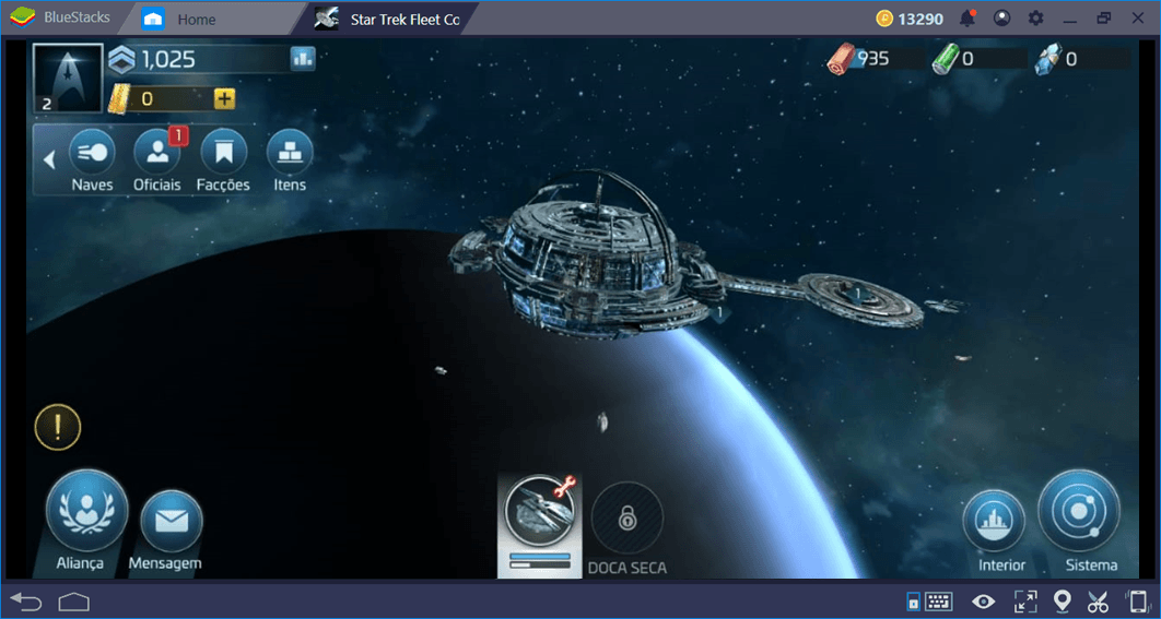 Guia de naves para Star Trek Fleet Command