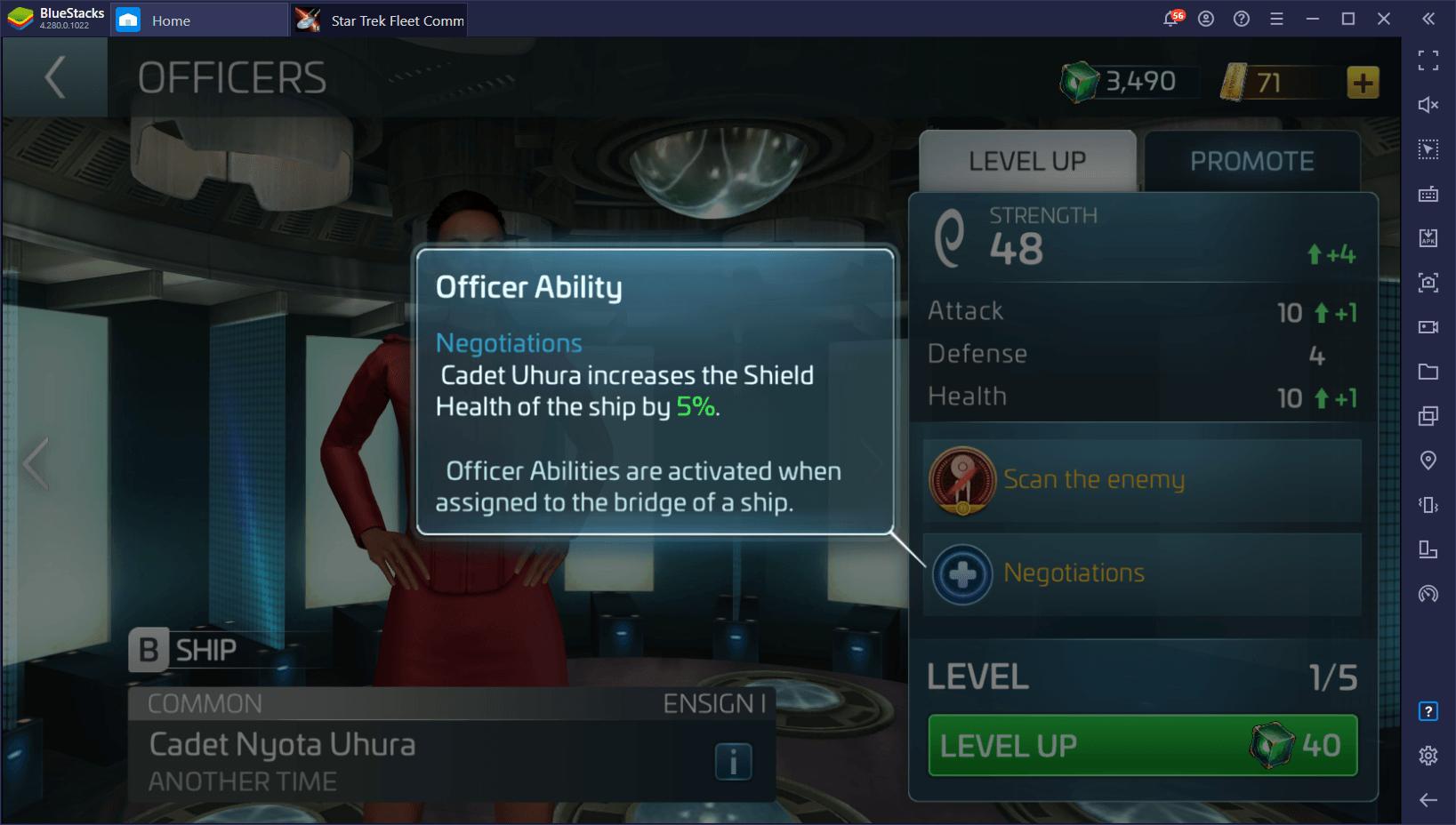 Star Trek Fleet Command – Comprehensive Guide for the Officer System