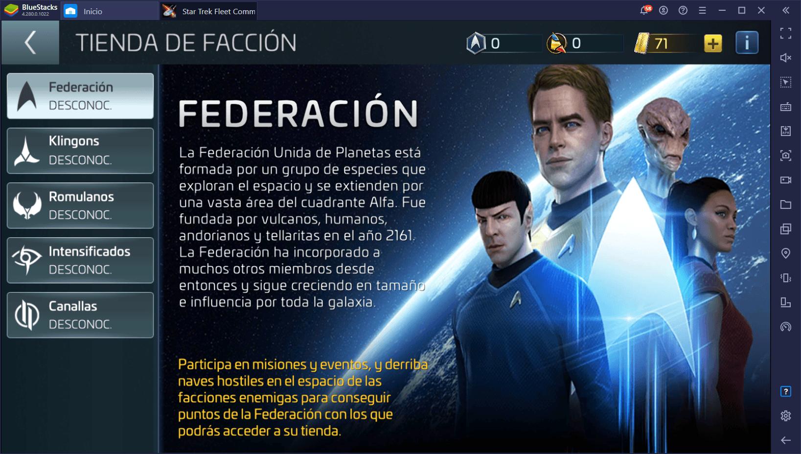 Star Trek Fleet Command – Guía Introductoria al Sistema de Oficiales