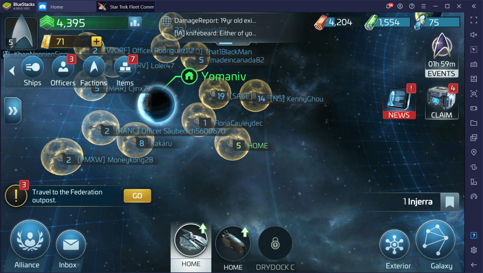 How to Play Star Trek Fleet Command on PC with BlueStacks