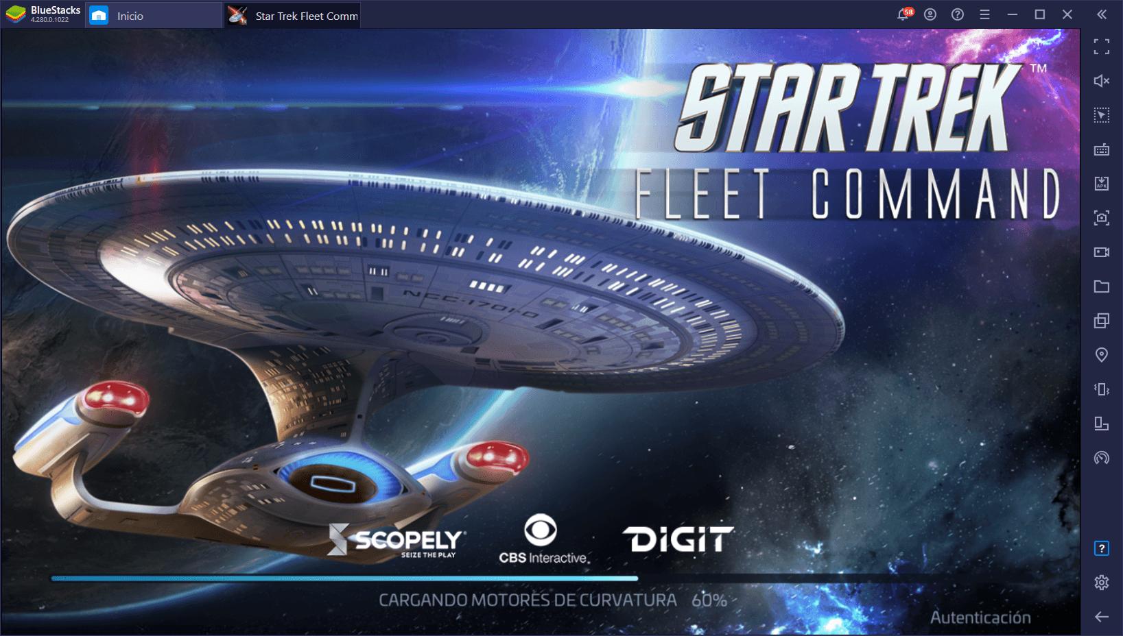 Cómo Jugar Star Trek Fleet Command en PC con BlueStacks