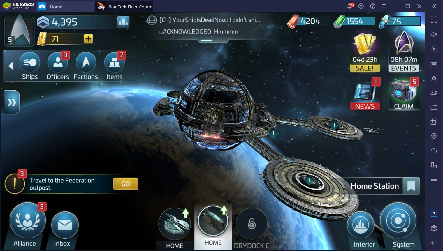 Star Trek Fleet Command September Update will Add Elements from the Entire Star Trek Timeline