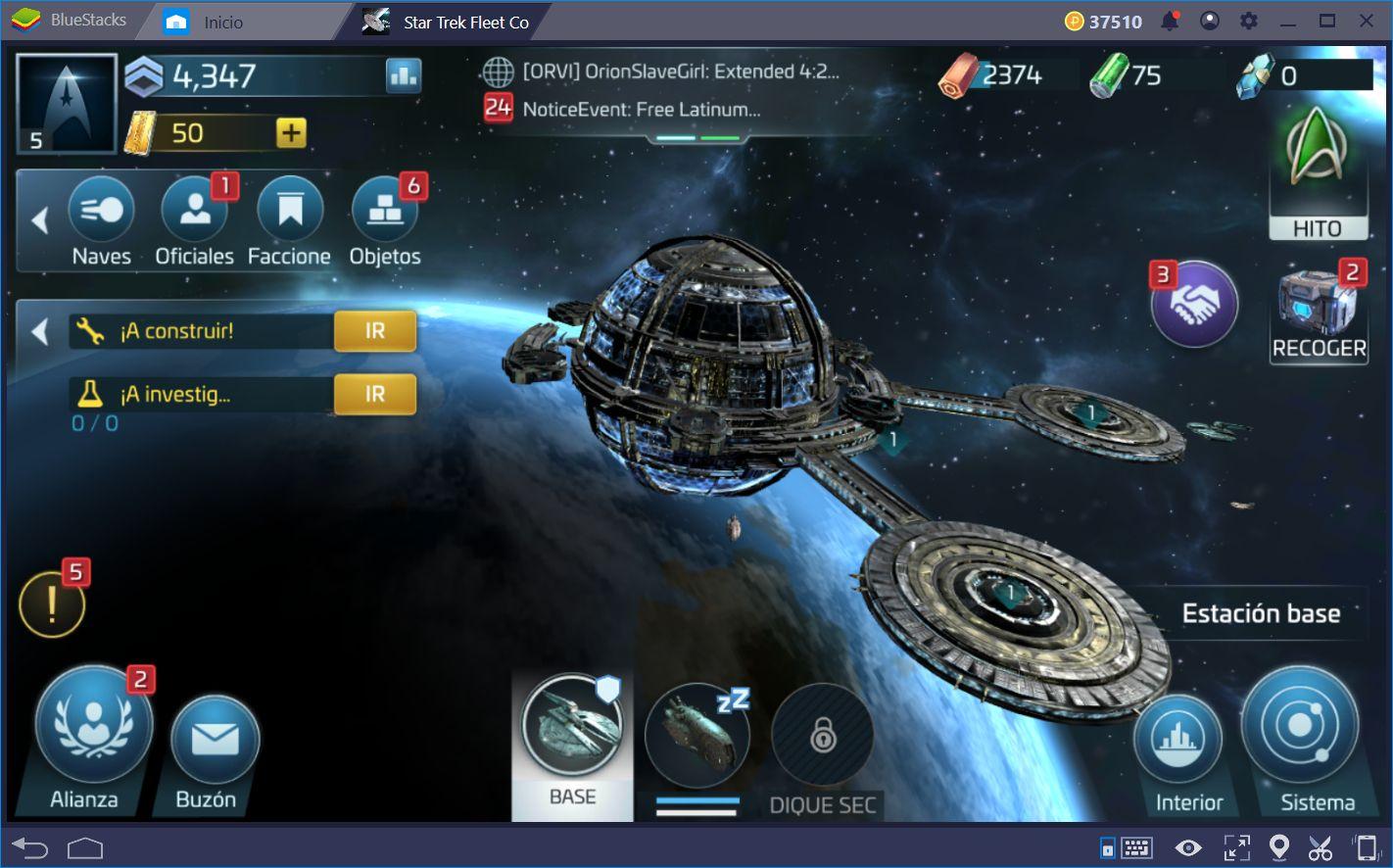 Cómo Mejorar tu Flota y Explorar la Galaxia en Star Trek Fleet Command