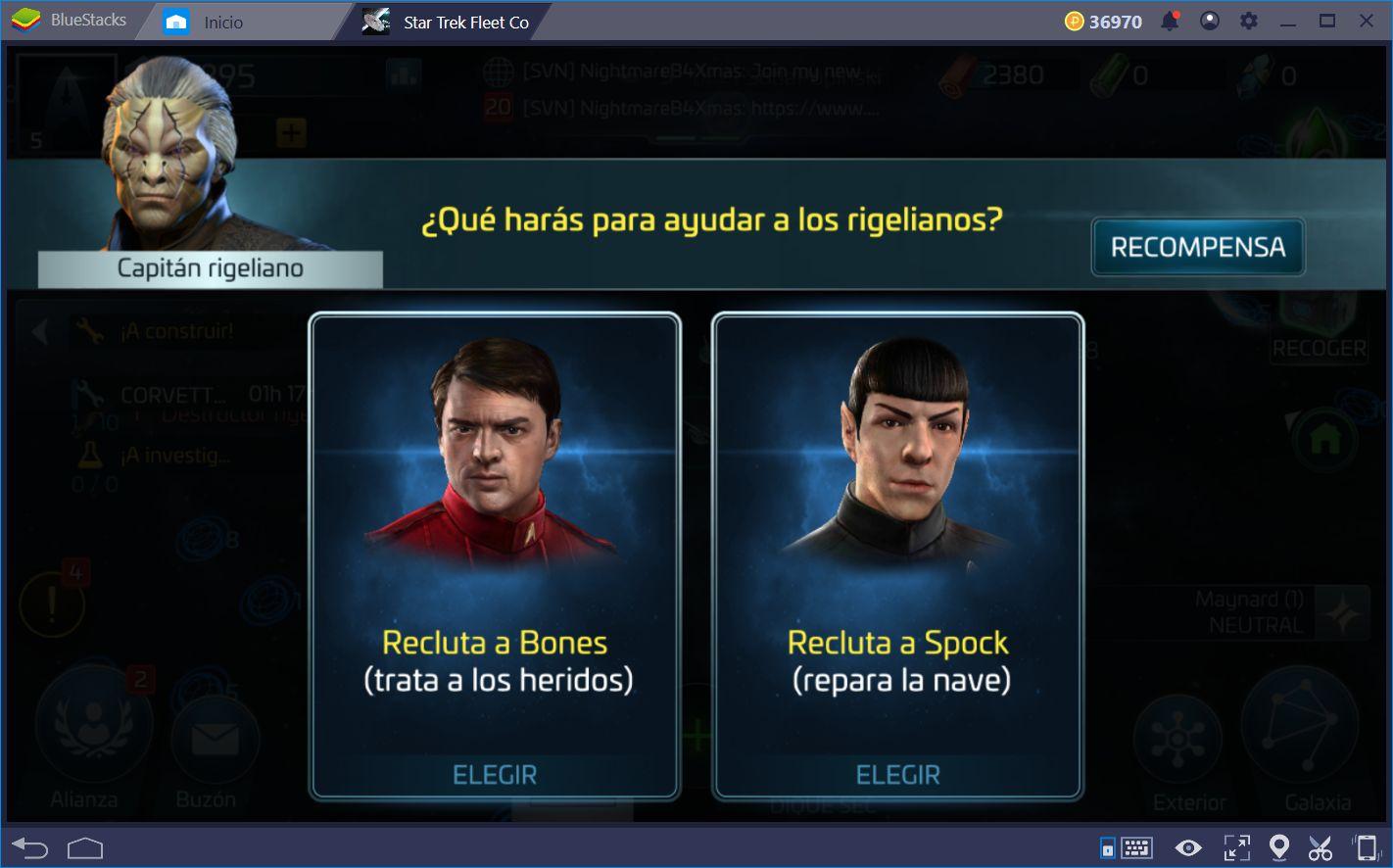 Guía Turística Para Star Trek Fleet Command