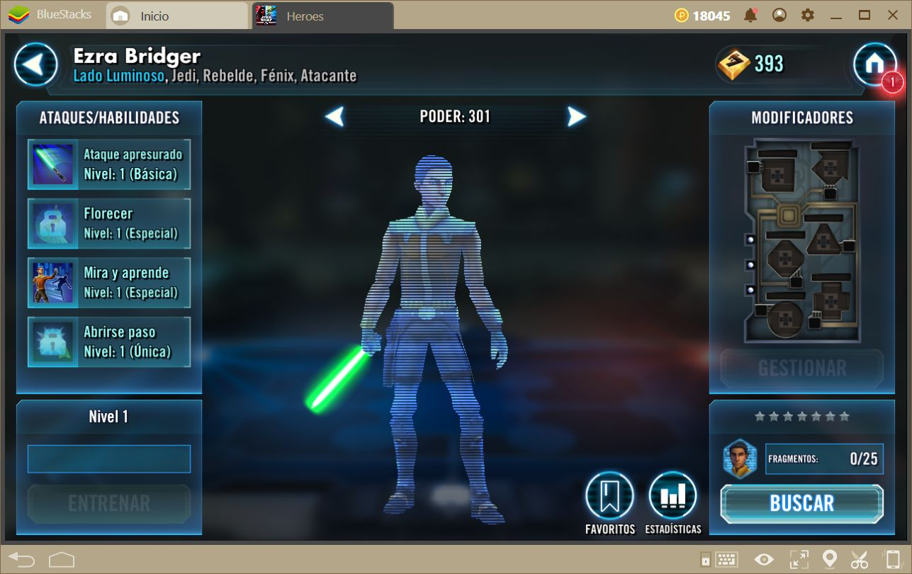Cómo Obtener Buenos Personajes en Star Wars: Galaxy of Heroes