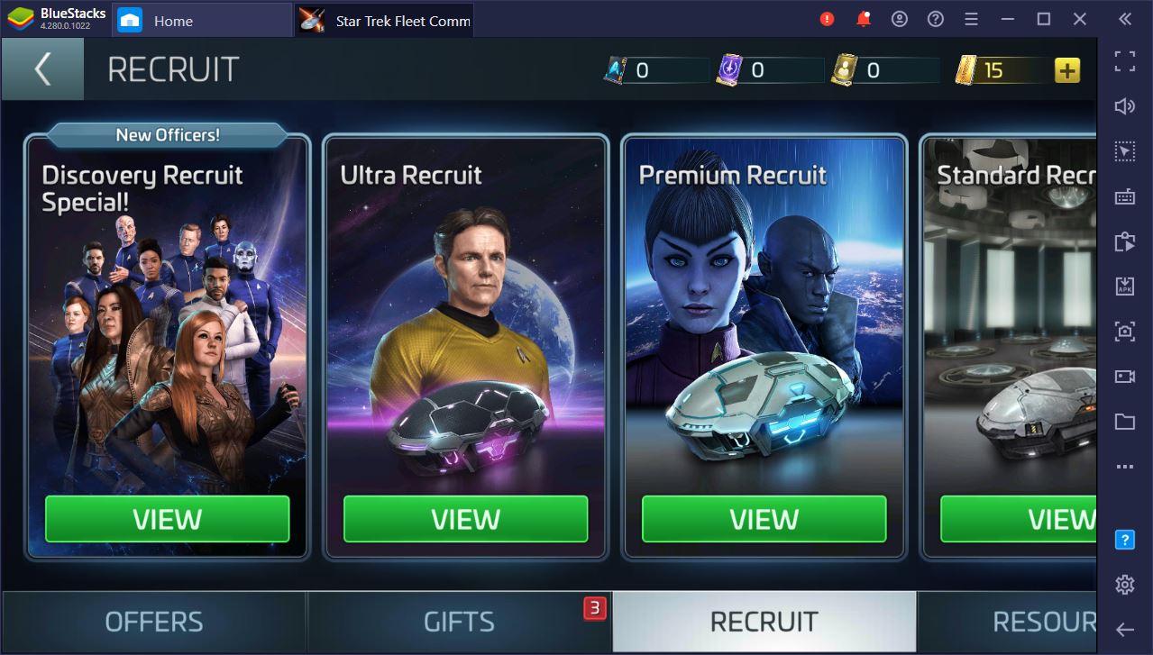 Guia completo de mineração no Star Trek Fleet Command