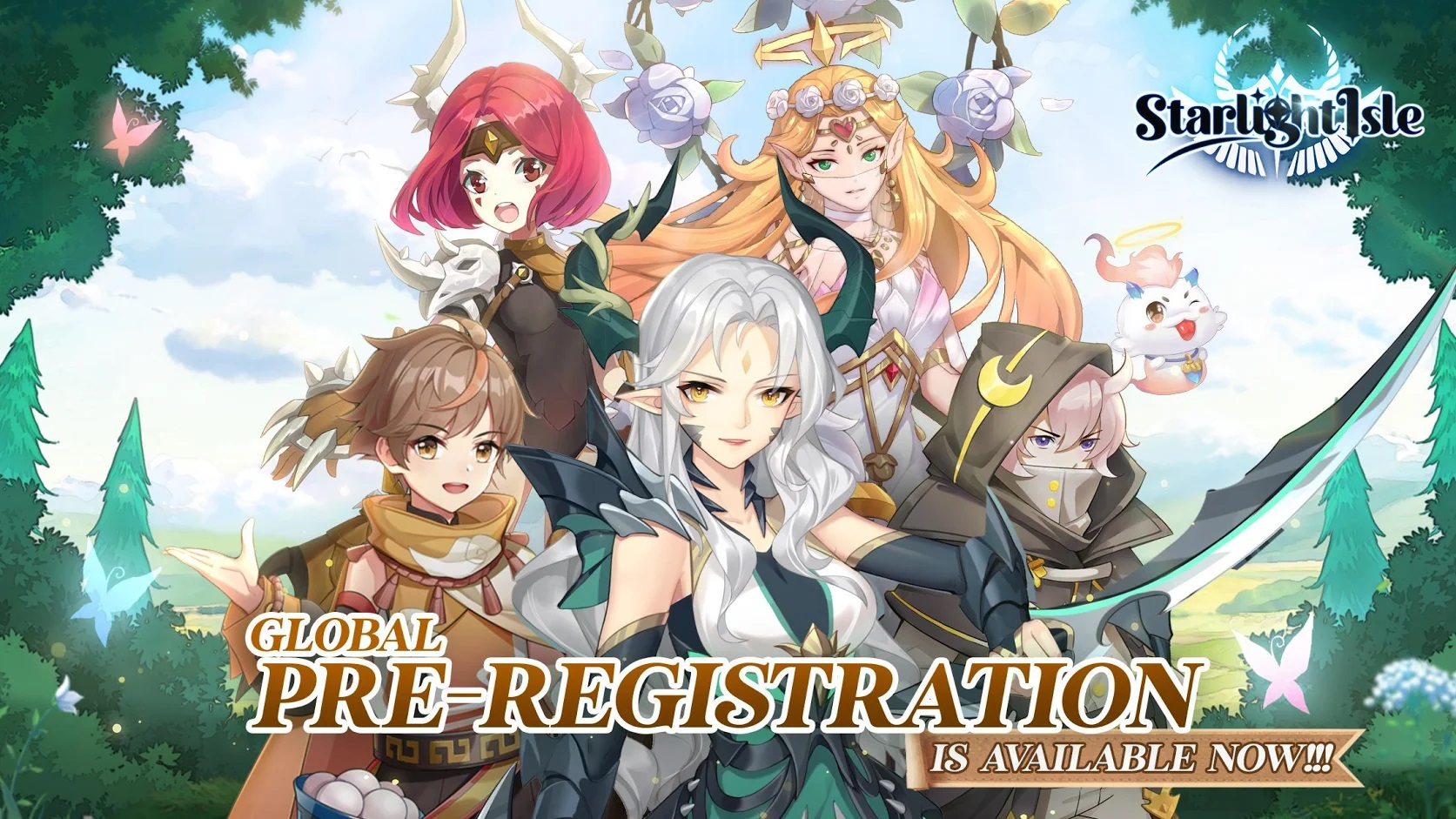 EYOUGAME's New MMORPG, Starlight Isle, Currently in Pre-Registration and Releasing Soon