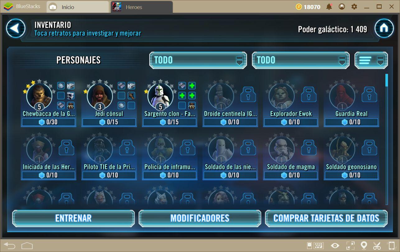 Los Mejores Escuadrones en Star Wars: Galaxy of Heroes