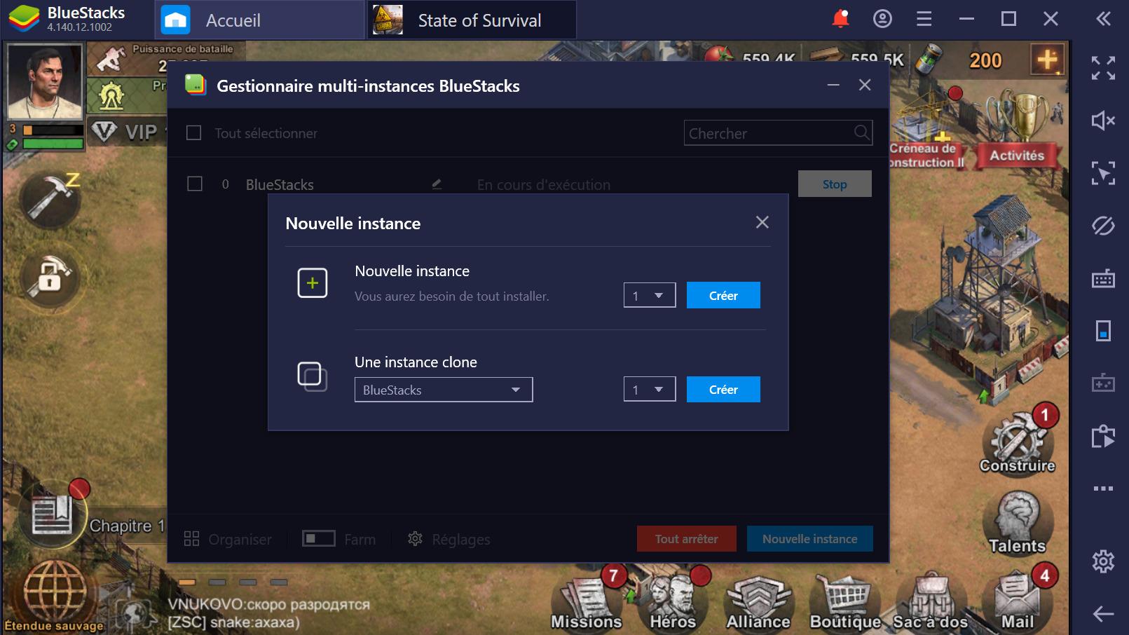 State of Survival sur PC : Utiliser BlueStacks pour gagner dans ce jeu de zombies