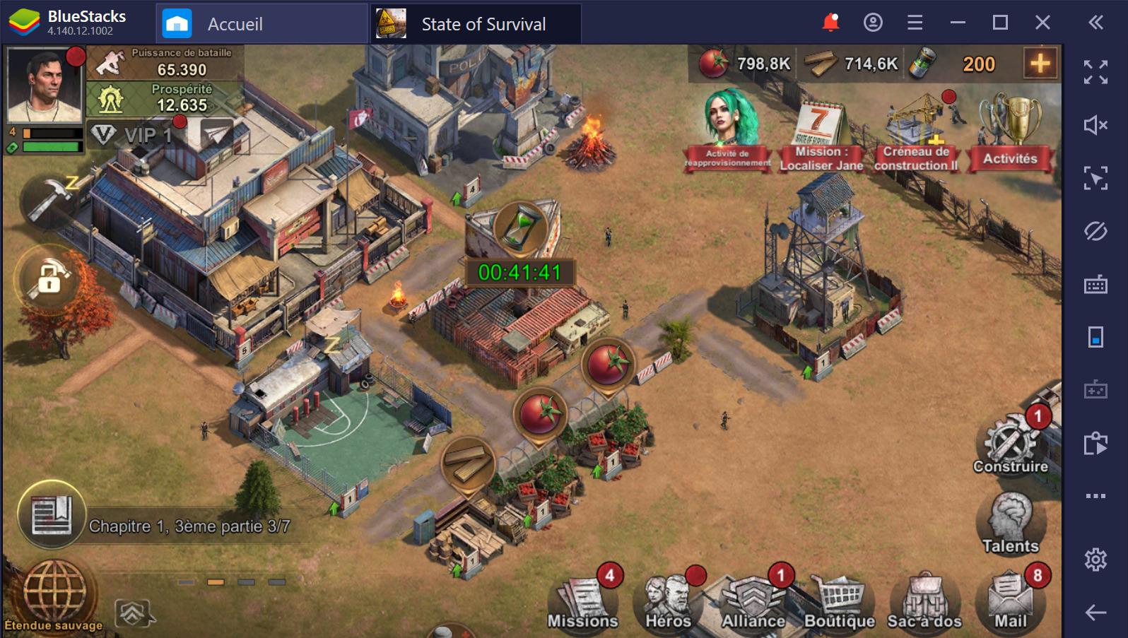 State of Survival sur PC : trucs et astuces pour survivre à la menace zombie