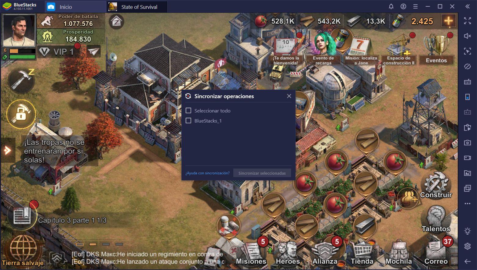 State of Survival en PC - Usando a BlueStacks Para Triunfar en Este Juego de Zombis