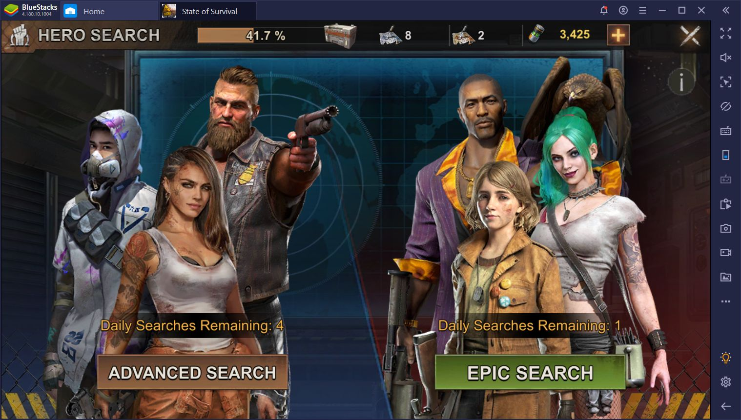 الأبطال في State of Survival على الكمبيوتر – دليل لأفضل الأبطال في اللعبة
