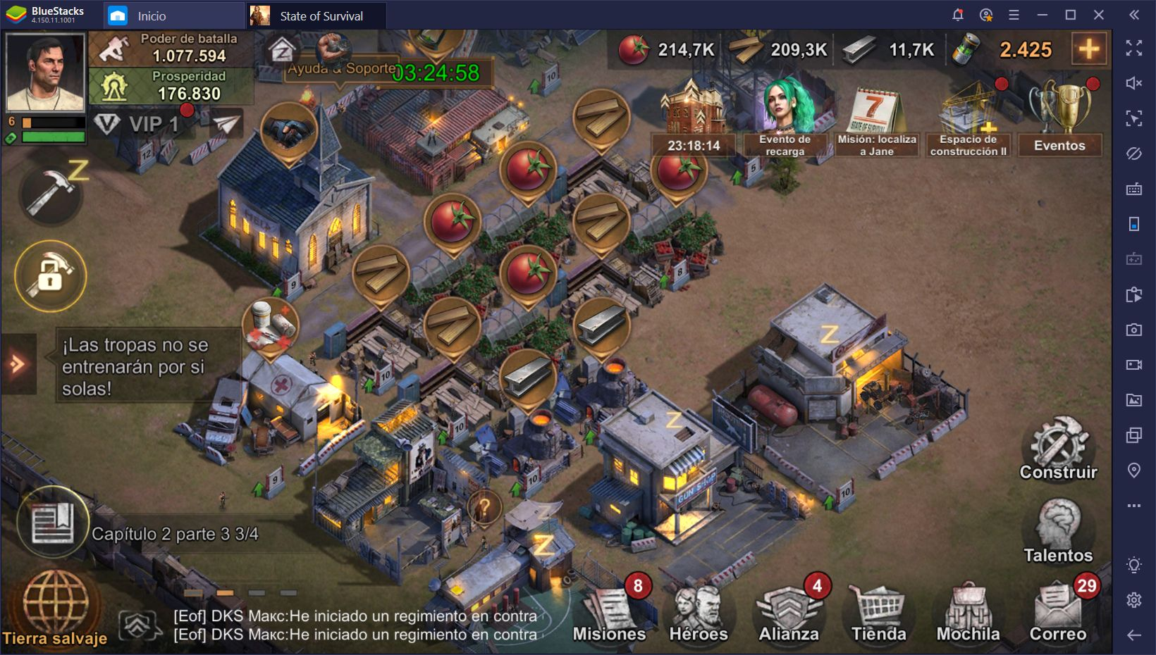 State of Survival en PC - Trucos y Consejos Para Sobrevivir a la Amenaza Zombi