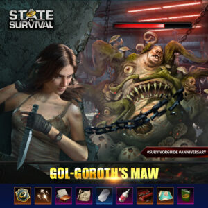 State of Survival: New Anniversary PvE Event Gol Goroth's Maw arrives