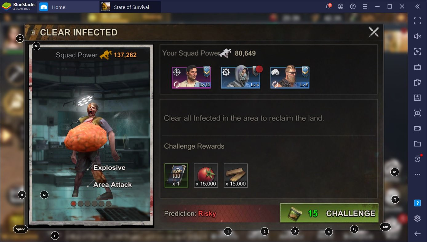The Complete Infected and Zombie List: A State of Survival Guide by BlueStacks