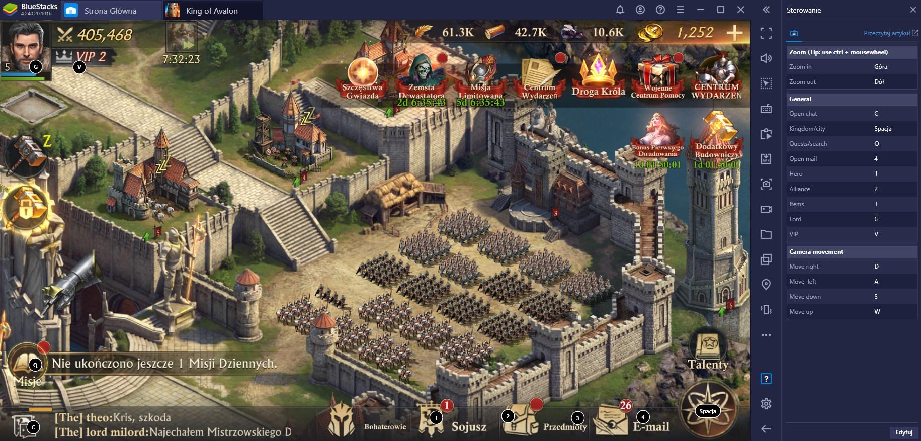Stawanie się władcą w King of Avalon: poradnik Setupu dla Przyszłych Lordów