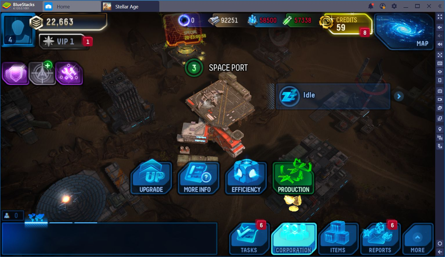 The Basics of Combat in Stellar Age on BlueStacks