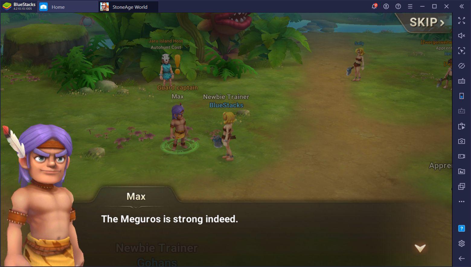 Comment jouer à StoneAge World sur PC avec BlueStacks
