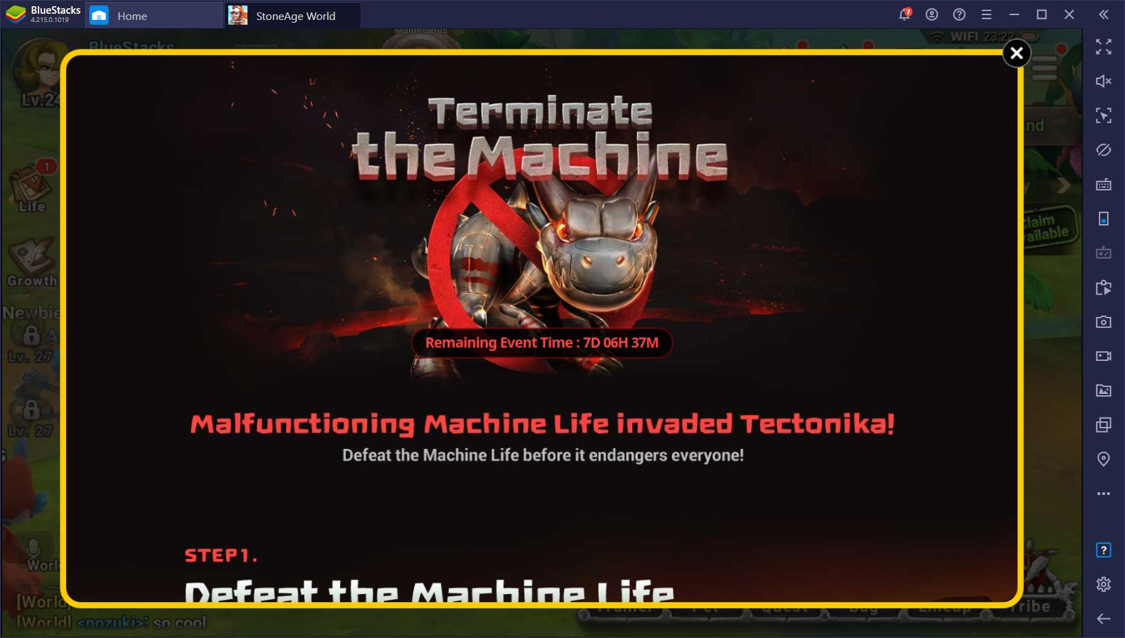 StoneAge World Machine Invasion Update Brings Mechanical Pets and New Events