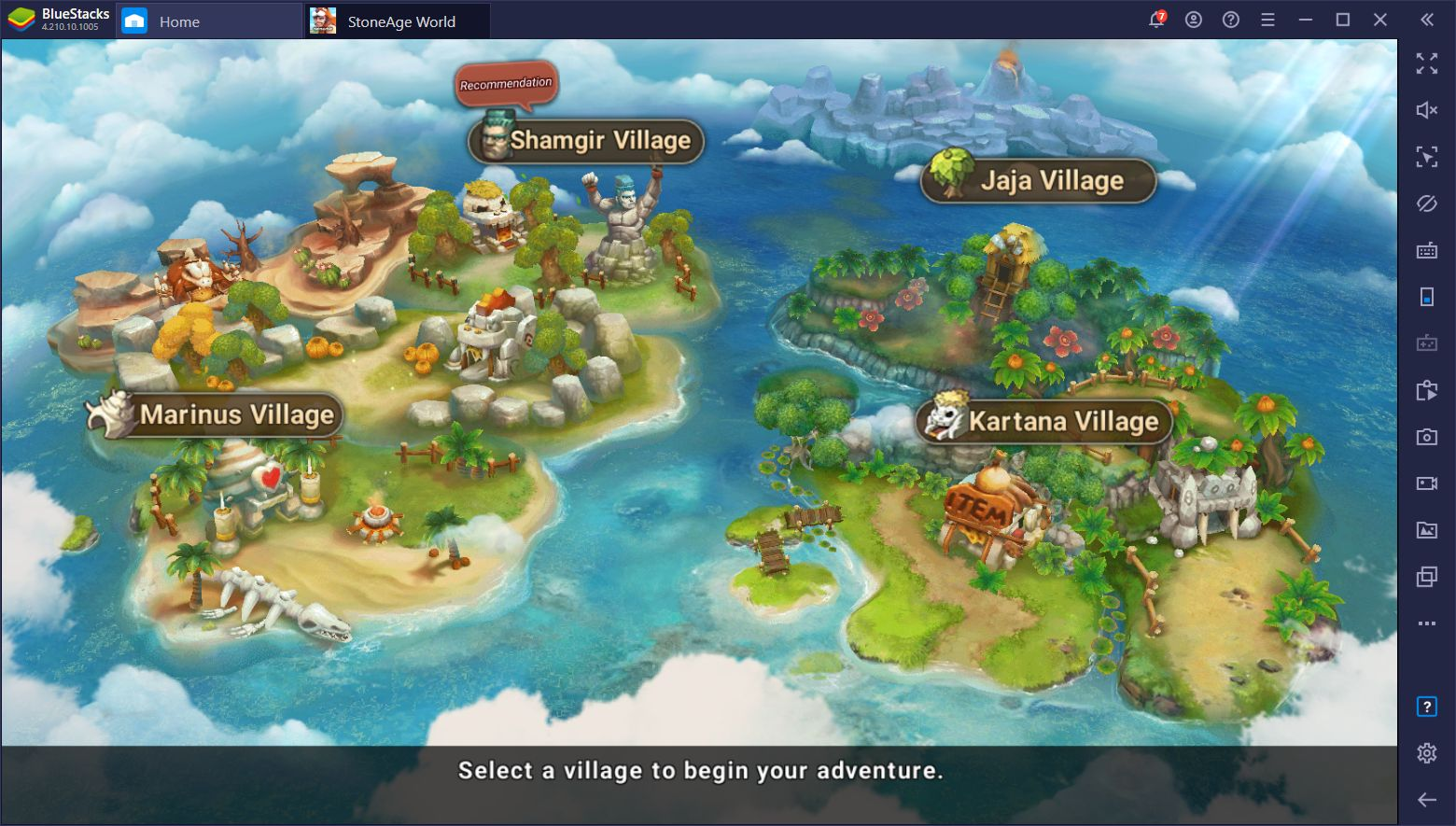 How to Play StoneAge World on PC With BlueStacks