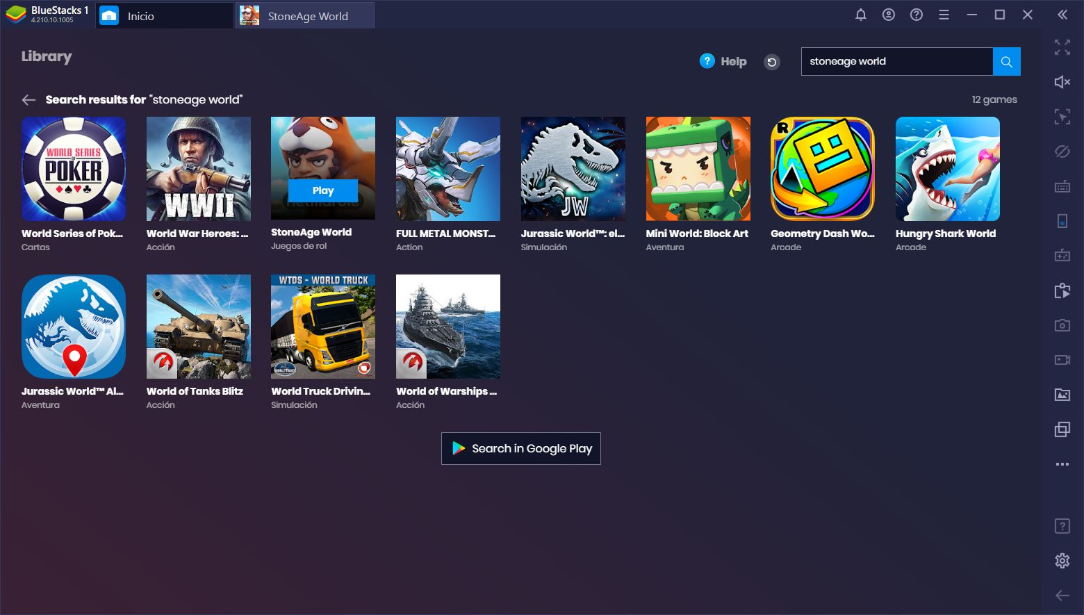 Cómo Jugar StoneAge World en PC con BlueStacks