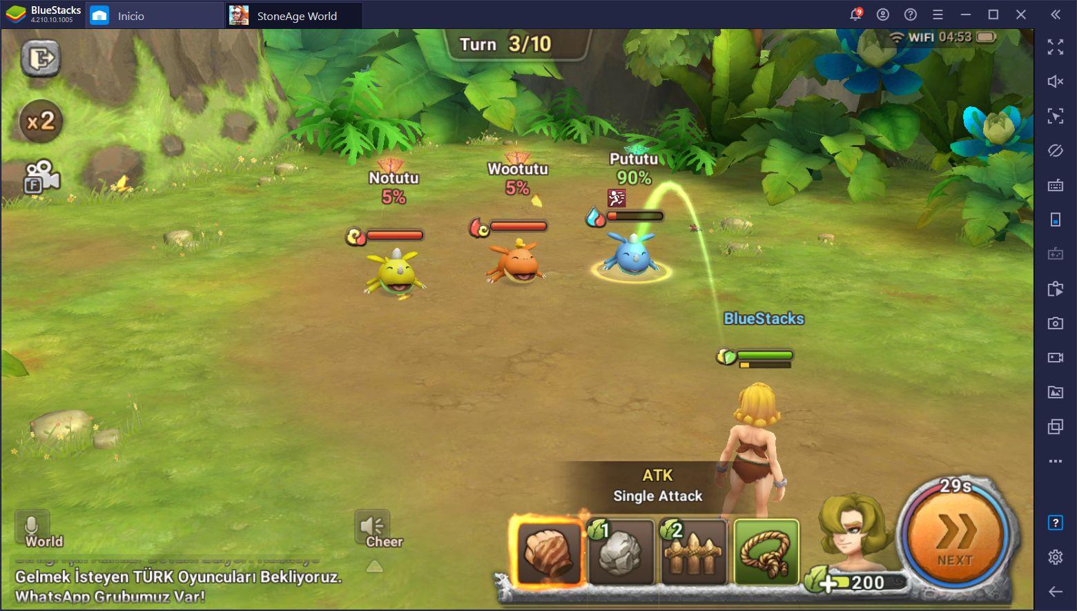 StoneAge World - Cómo Capturar Mascotas en Este RPG Similar a Pokémon