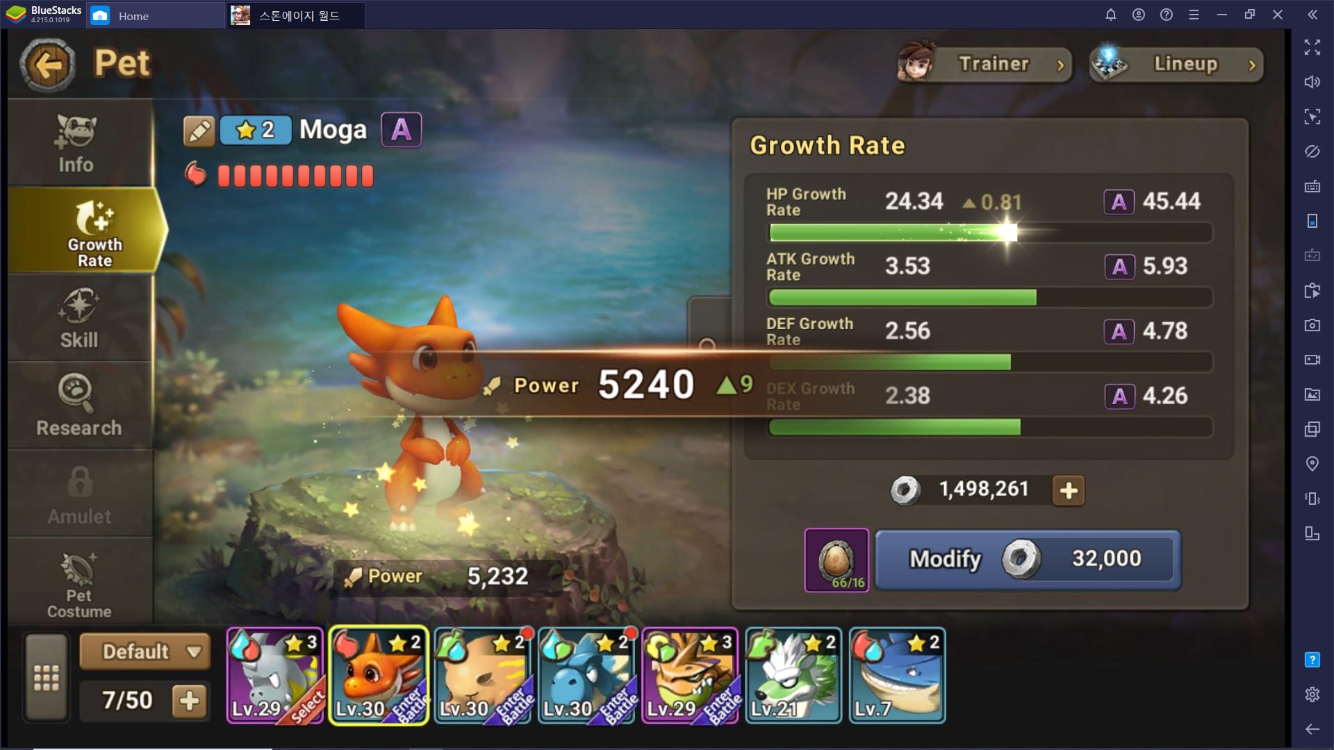 Guida agli Elementi e alla Crescita delle creature in StoneAge World