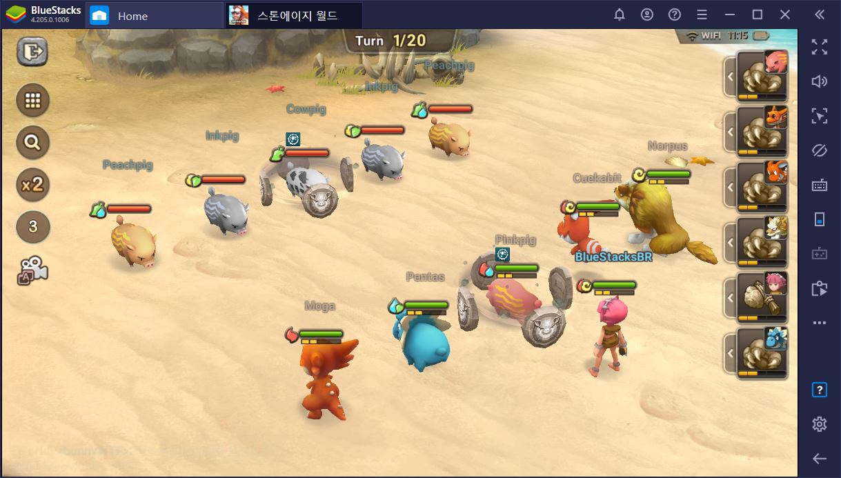 Como jogar Stoneage World no PC usando o BlueStacks