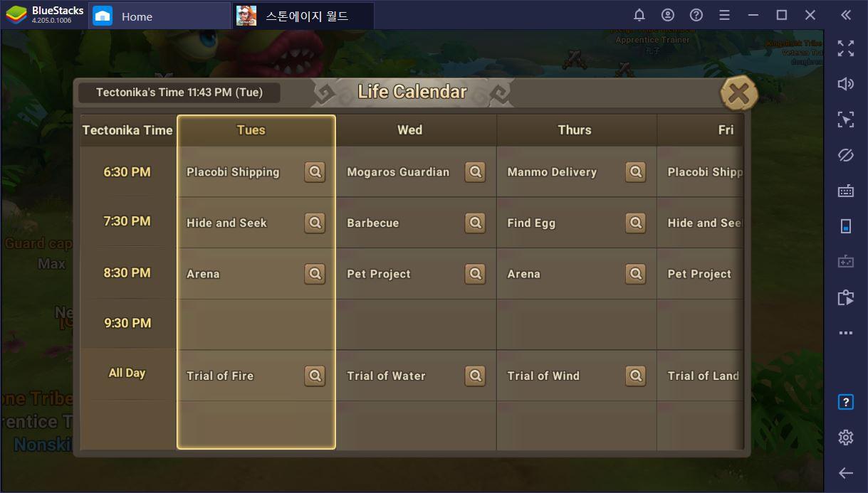 Stoneage World: Um guia sobre os menus e recursos do jogo