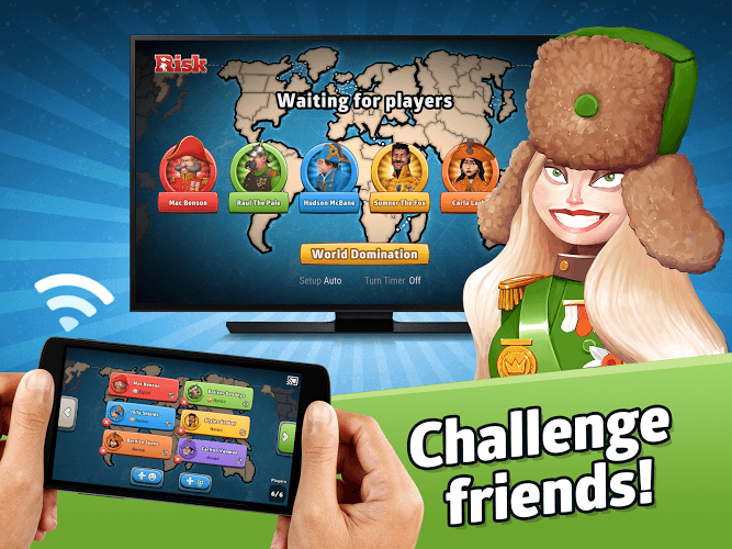 With you risk world domination online free