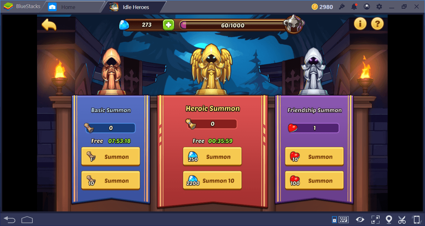 A Guide to Buildings in Idle Heroes | BlueStacks