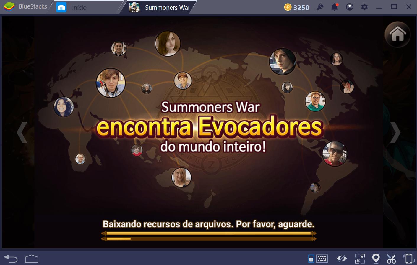 Liderando uma Guild em Summoners War