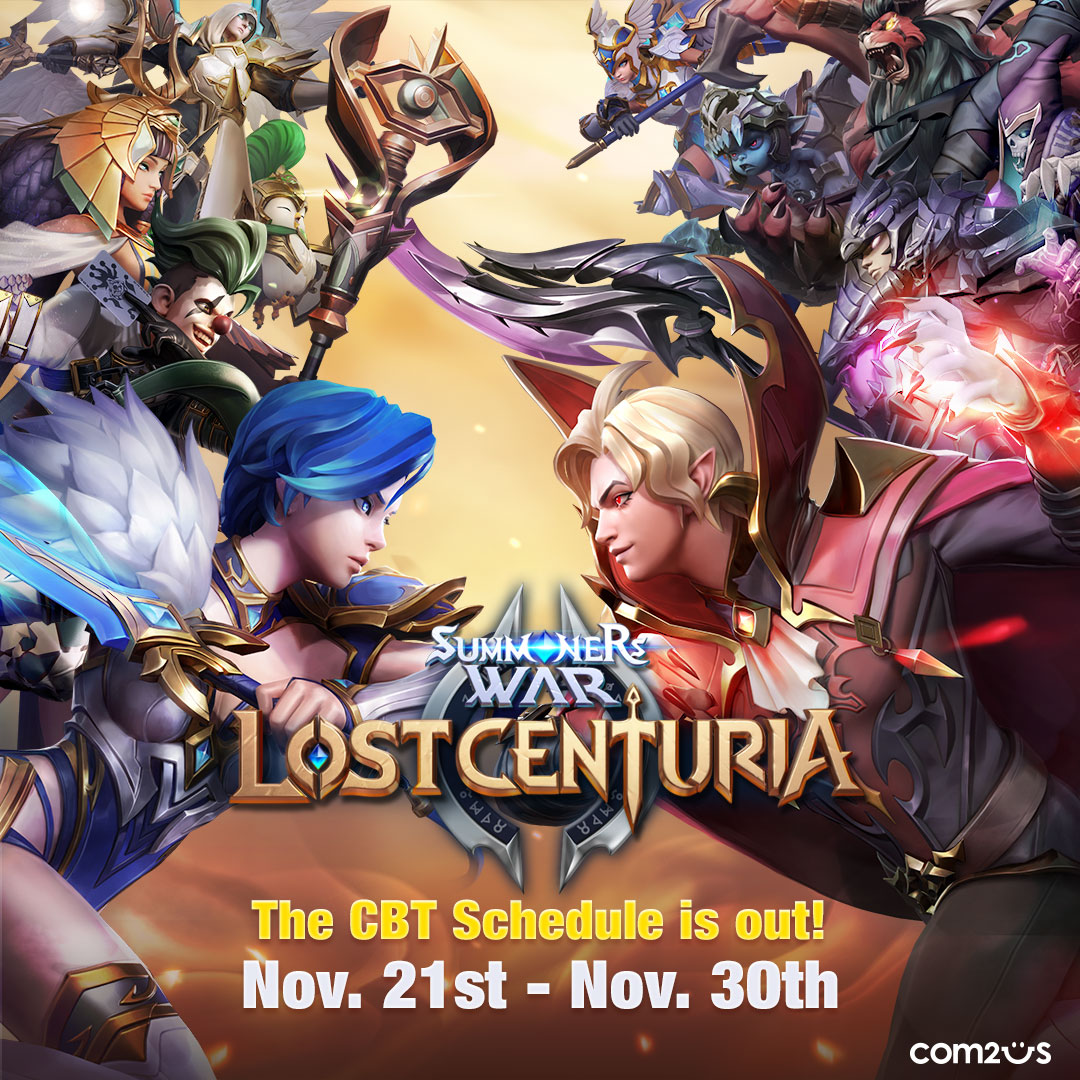 Summoners War: Lost Centuria to Enter Closed Beta Testing on 21st November