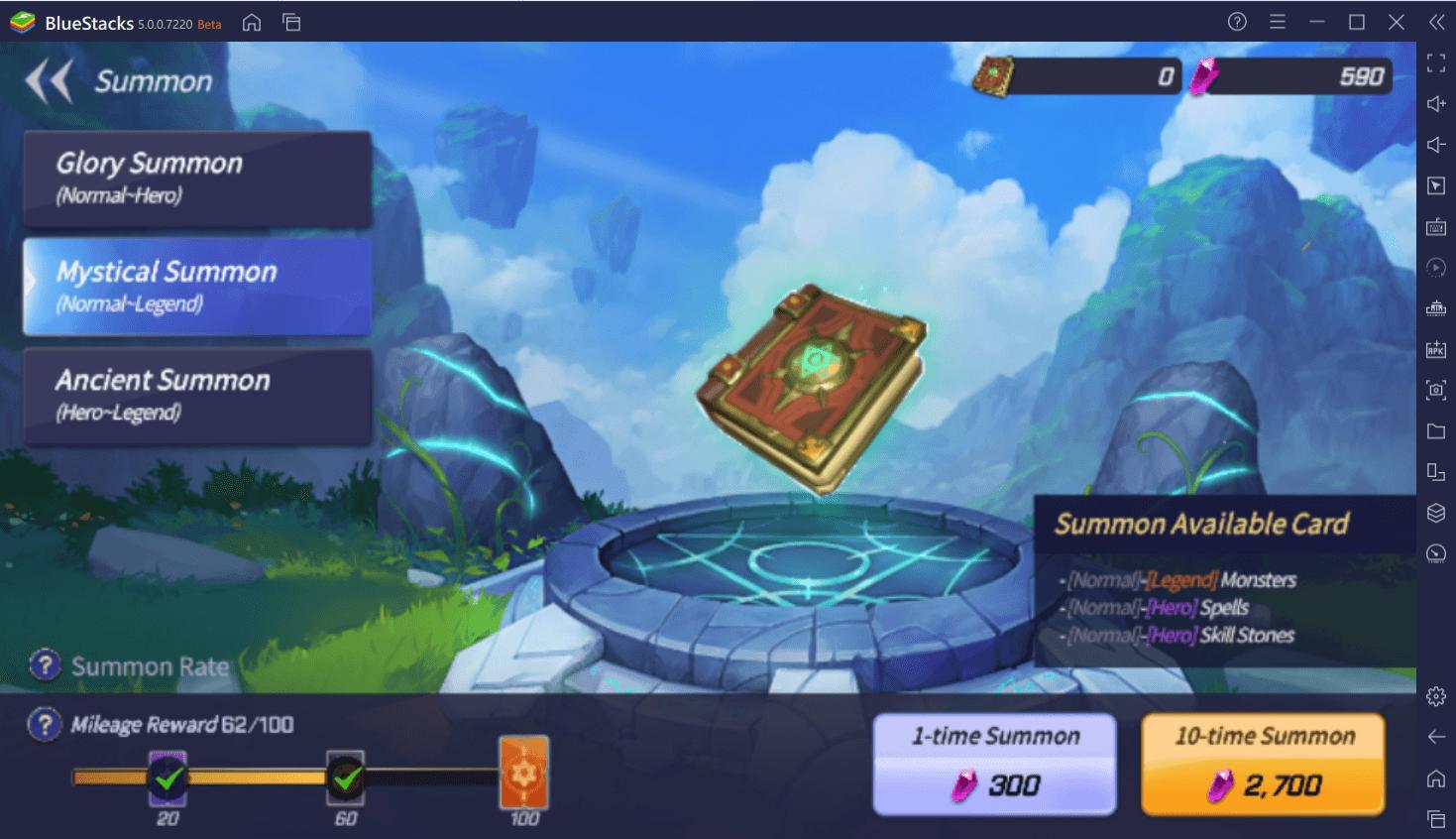 Summoners War: Lost Centuria – Hướng dẫn reroll khi bắt đầu chơi game