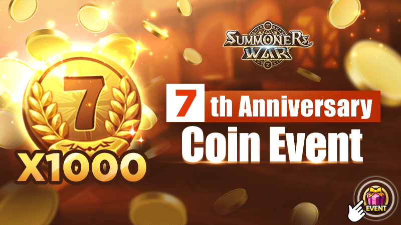 Summoners War: The 7th Anniversary Coin Event is Here!