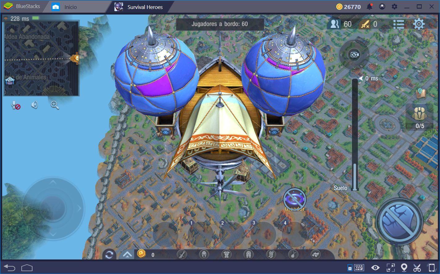 Survival Heroes: Lo Mejor de Los MOBAs y Battle Royale en un Sólo Paquete