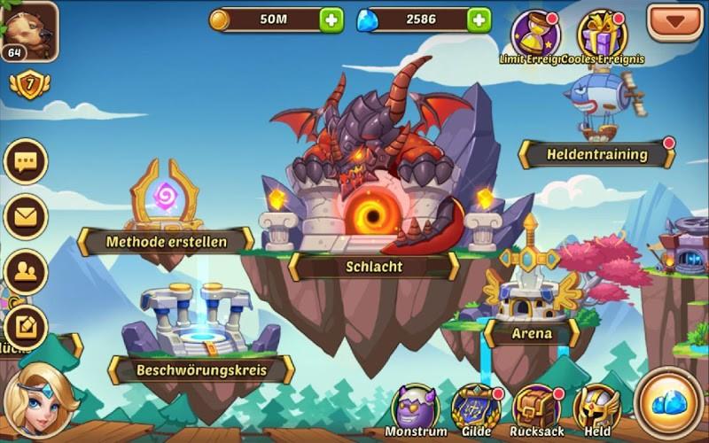 Spiele Idle Heroes auf PC 16