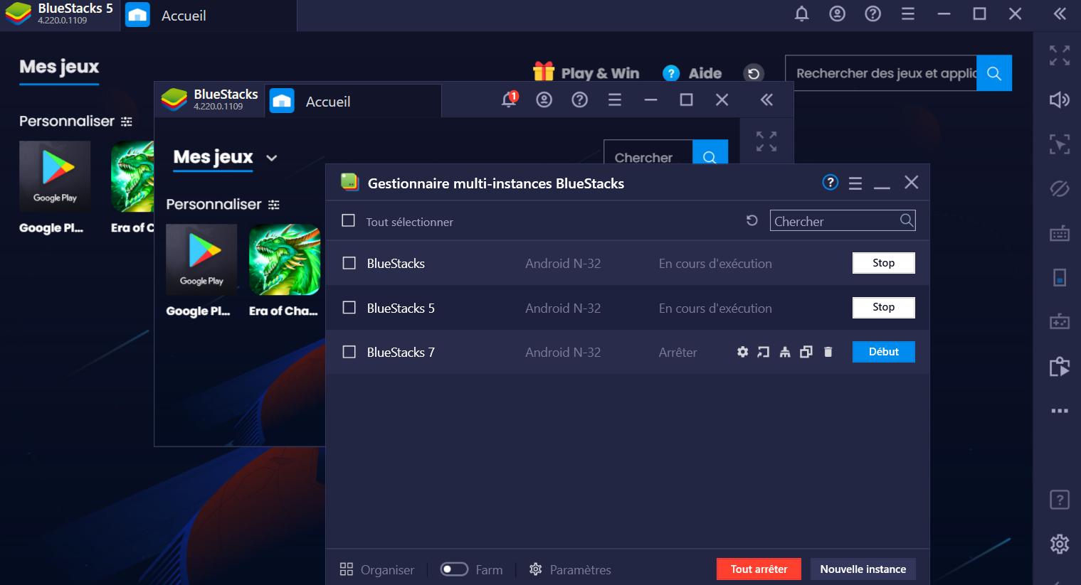 Les fonctionnalités BlueStacks – Du gameplay décuplé avec le synchronisateur d'instances