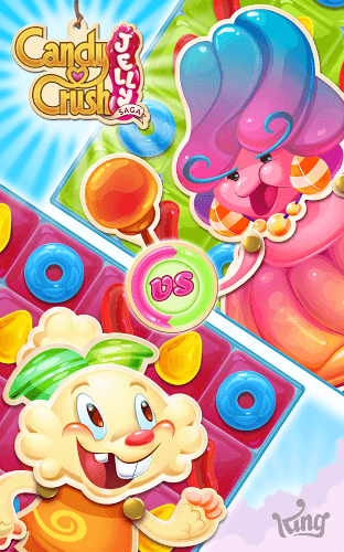 เล่น Candy Crush Jelly Saga on PC 13