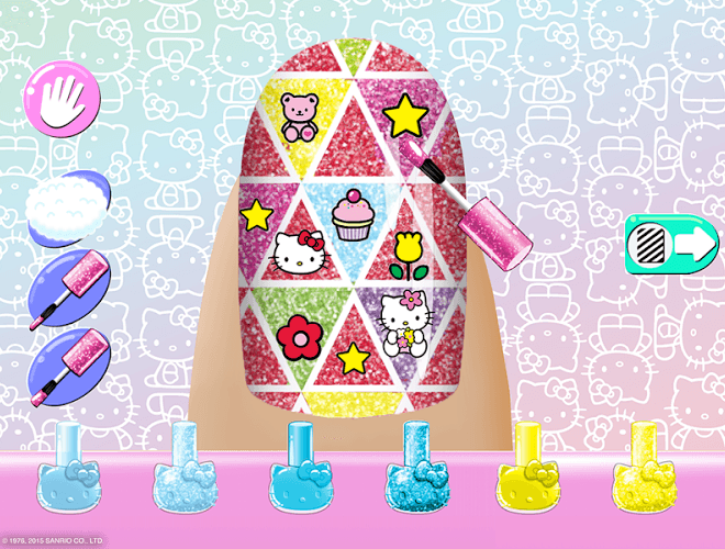 Play Hello Kitty Nail Salon on PC 13