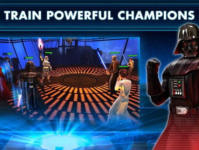 Chơi Star Wars™: Galaxy of Heroes on PC 5
