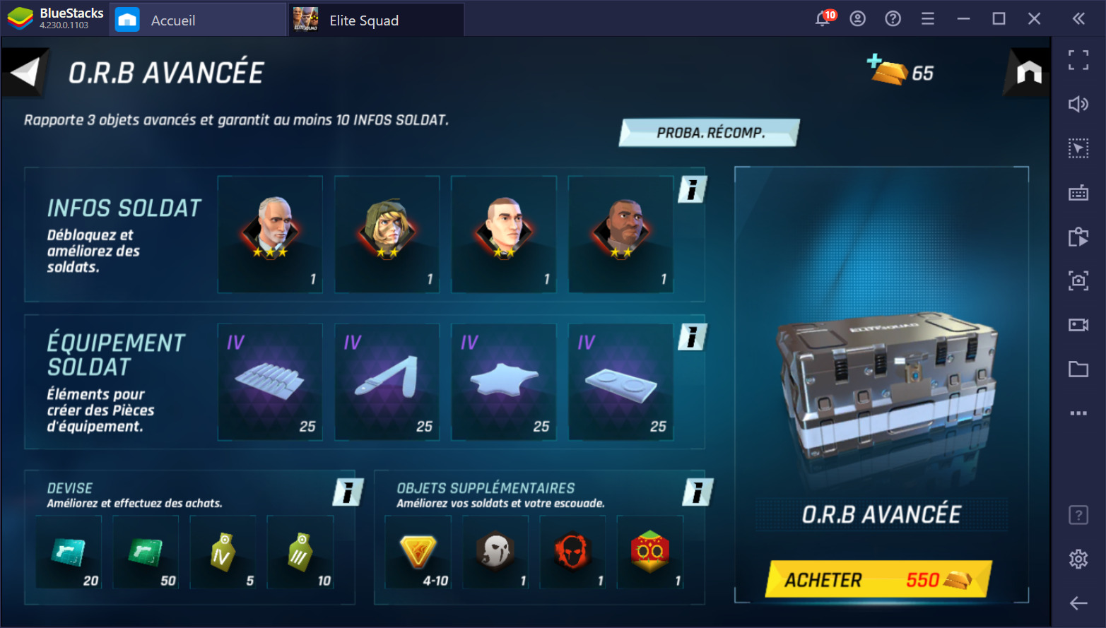 Guide sur le reroll dans Tom Clancy's Elite Squad – Comment débloquer les meilleurs agents dès le début