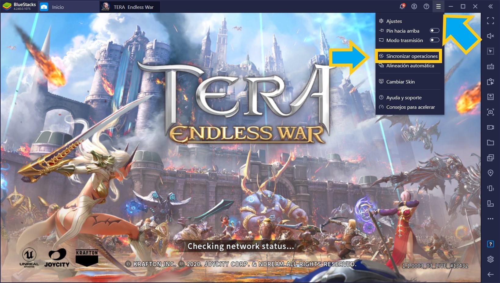 TERA: Endless War en PC – Cómo Usar las Herramientas de BlueStacks Para Automatizar y Mejorar tu Desempeño