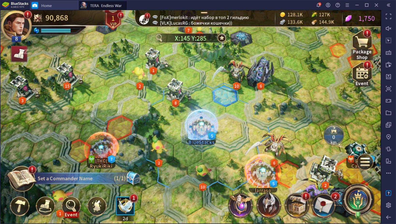 TERA: Endless War – Cómo Jugar Este Juego de Teléfono en PC con BlueStacks