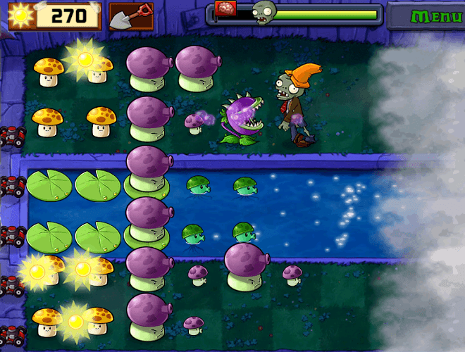 เล่น Plants vs Zombies on PC 11